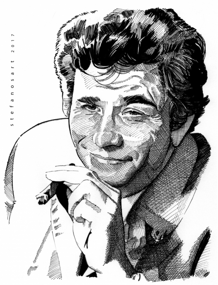 Peter Falk por Stefanosart